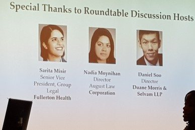 Roundtable discussion hosts